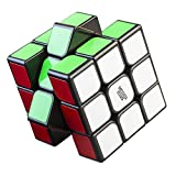 Cubikon Zauberwürfel - 3x3 Speedcube GÖTEBORG - schwarz - Schneller und Robuster Profi Speed-Cube 3x3 mit optimierten Dreheigenschaften für Speed-Cubing (3x3x3 Moyu Guanlong)
