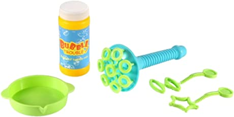 TOYMYTOY Water Blowing Toys Portable Bubble Maker Machine