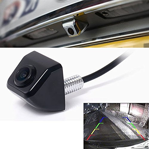 fenrad 170 Grad Weitwinkel Auto Rückfahrkamera Kamera Einparkhilfe Farbkamera CCD Wasserdicht Nachtsicht Einparkkamera Rückfahrsystem - Schwarz - Ccd-auto-kamera