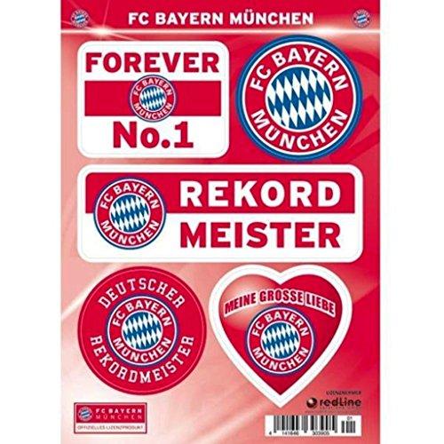 BAYERN MÜNCHEN Aufkleber / Sticker / Gesichtaufkleber DIN A5 - Dynamo-fußball-jersey
