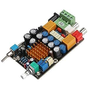 DEOK 12V Digital-Verstärker-Brett DC 11-14.5V 2-Kanal Audio Stereo-Endstufe Vorstand mit Ein / Aus Schalter DIY Auto-Kopfhörer-Audioverstärker