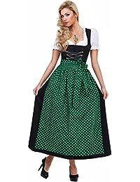 ALMBOCK Dirndl Lang | Viele Modelle in verschiedenen Farben von Größe 36-46 | festlich, traditionell und elegant
