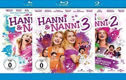 Hanni & Nanni 1 + 2 + 3 Collection (3 Blu-ray)