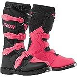 Thor Blitz XP Women Damen Frauen Boots Stiefel Enduro Motocross pink 2019, Größe: Größe 8 (EU 38)