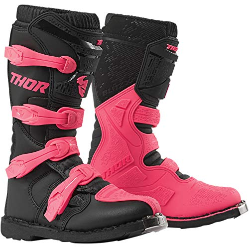 Thor Flash XP Women Mujer Mujeres Botas de Enduro Motocross Rosa 2019