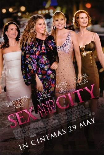 Sex and The City: The Movie Poster (27 x 40 Inches - 69cm x 102cm) (2008) Style C