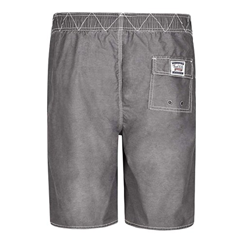 Weird Fish Andras coulisse in vita Boardshort Grey