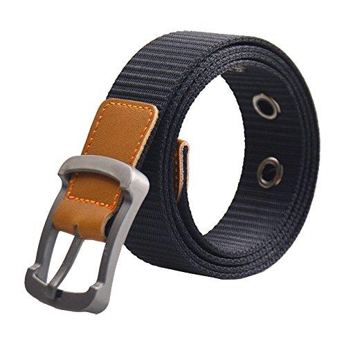 ITIEZY Herren Gurtband Stoffgürtel Taktisch Militärgürtel Sportswear Outdoor Leinwand Gürtel für Männer 120CM (Leinwand Gurtband Gürtel)