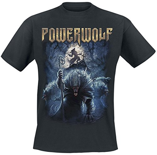 Powerwolf Night Of The Werewolves T-Shirt nero S