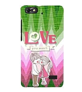EPICCASE puppy love Mobile Back Case Cover For Xiaomi Redmi Mi4c (Designer Case)
