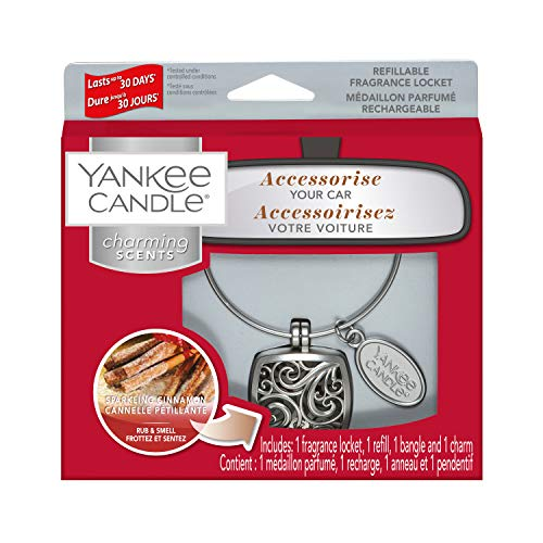 Yankee Candle Seducenti Aromi Kit di Base, Cannella Vivace Quadrato