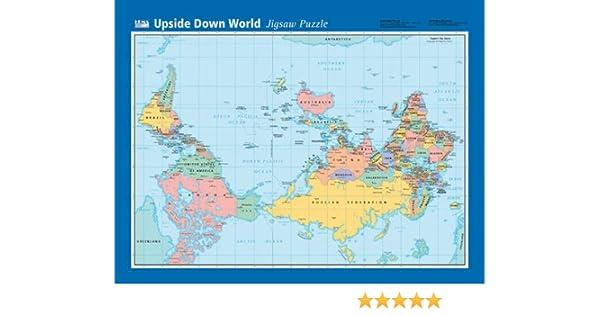 Upside Down World Map: Amazon.de: Fremdsprachige Bücher