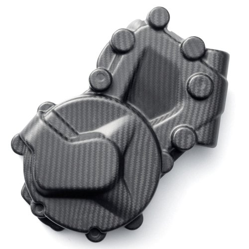 BMWS1000R/RR/XR Carbon Schutzdeckel LiMa, Lichtmaschine, matt, RACEFOXX