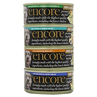 Encore 100% Natural Wet Dog Food, Chicken Selection Multipack, 5x156g Tin 14
