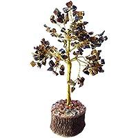 Tiger Eye Stein Baum Heilung Kristalle Steine Reiki Baum Reiki Spritual Geschenk mit Rot Geschenk Tasche preisvergleich bei billige-tabletten.eu