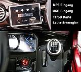 Mercedes-Benz S63 AMG Cabriolet Ride-On 12V Elektro Kinderauto Kinderfahrzeug Kinder Elektroauto (Schwarz) - 4