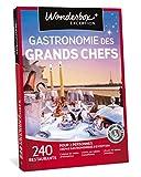 Wonderbox - Coffret cadeau couple - GASTRONOMIE DES GRANDS CHEFS - 240 grands restaurants étoilés
