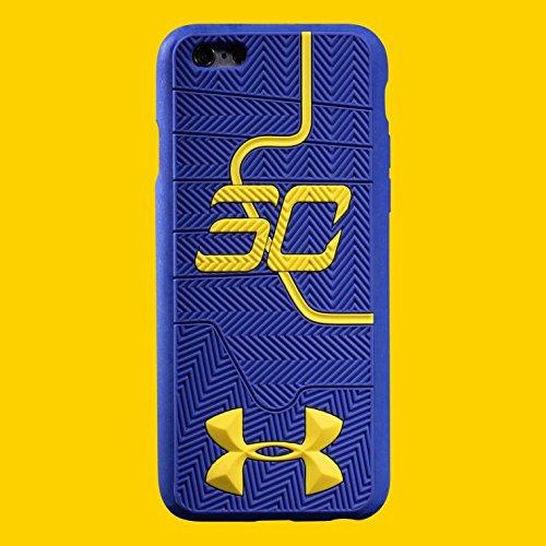 Under Armour Hülle für Apple iPhone 6/6S mit Motiv Stephen Currys Schuhsohle, weich blau
