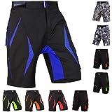 Brisk MTB Shorts, Coolamax Gepolsterte, herausnehmbare Innenfutter, Free Style Erwachsene Größe