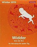 Widder - Kalender 2019: Ihr Horoskop für jeden Tag - Robert Satorius