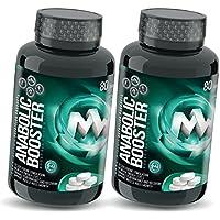 Preisvergleich für ANABOLIC TB MAXX | 2 x 80 Tabletten (vegan) | HOCHDOSIERT | Natürlicher Testosteron-Booster | Mit Tribulus + Maca...