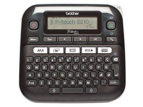 Brother PTD210ZG1 P-TOUCH D210 Beschriftungsmaschine