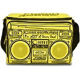 Fydelity Boom Box Coolio Cooler - Bolsa nevera portátil con altavoces estéreo integrados, color amarillo [Importado de Francia]