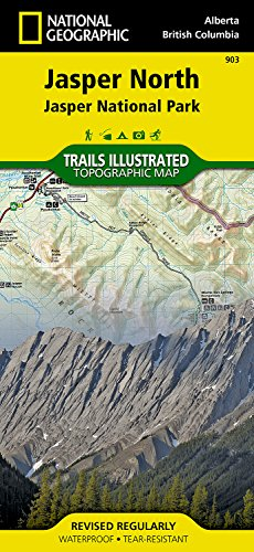 Jasper North: Trails Illustrated National Parks (National Geographic Trails Illustrated Map)