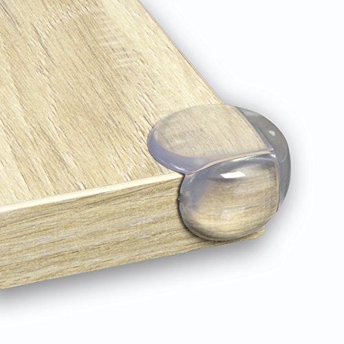 Premium Kantenschutz 12 Stück – inklusive 3M Klebepads – Hochwertiger Eckenschutz für Tische und Möbel – Optimale Baby- und Kindersicherung zum praktischen Einsatz für Ihr Zuhause (12)
