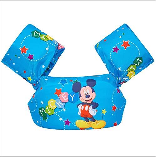 FDGT Mickey Maus Kinder Schwimmarm Kreis-Kleinkind-Baby-Schwimmanlage Schwimmkreis Mu Sleeves Schwimmweste