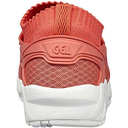 asics Gel Kayano Trainer Knit Femmes Sneaker orange H7N6N 7676 Rosa