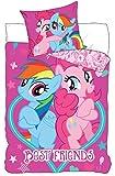 Carbotex My Little Pony Einhorn Unicorn Pony Kinderbettwäsche Kinder Bettwäsche 140x200 cm + 70x80 cm