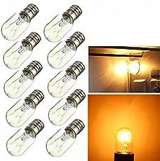 5X E14 15W 25W Light Bulb Glass Heat Resistant Lamp Bulb AC220-240V