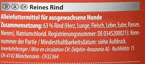 Animonda Gran Carno Sensitive Adult Reines Rind, 6er Pack (6 x 800 g) - 3