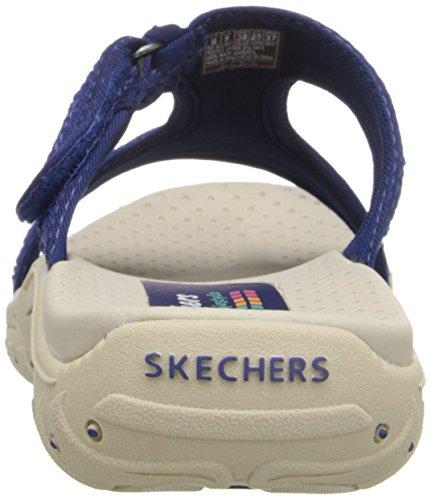 Skechers ReggaeRockfest 47786, Sandali donna Navy