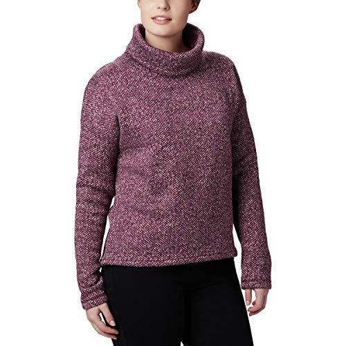 Columbia Damen Chillin Fleece Pullover, Black Cherry, X-Groß Columbia Sportswear-fleece-pullover