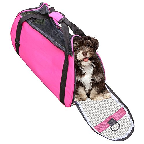 rusee-soft-sided-outdoor-pet-travel-carrier-mesh-side-ventilatpet-carrier-rusee-airline-pet-carrier-