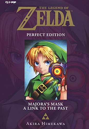 Majora's mask-A link to the past. The legend of Zelda. Perfect edition: 3