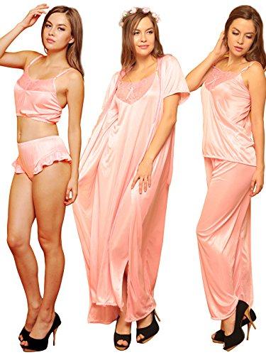 Clovia - Robe de chambre - Femme Rose - Rose