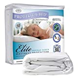 Elite Cotton Double-Sided Waterproof Fitted Sheet Style Mattress Protector Size: Full by Protect-A-Bed