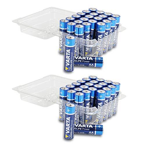 Varta 48 x High Energy MN1500 Pack spécial LR6 AA alcalines Batterie