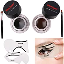 Lover Bar trucco 2 in 1 impermeabile Gel Eyeliner Nero e Marrone