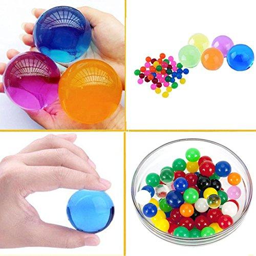 erlen,4-5 cm Durchmesser,Verschiedenen Farben100 Stück (Türkis-mittelstücke)