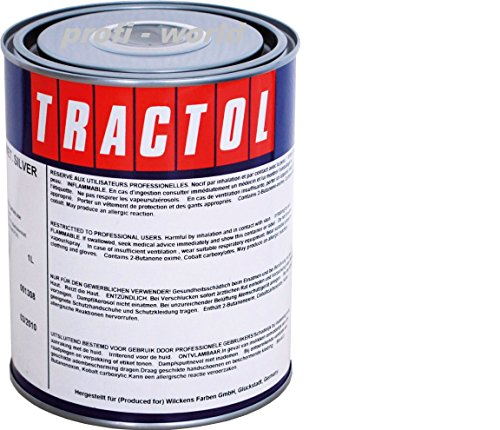 Preisvergleich Produktbild Tractol Schlepperlack Traktoren Lack RAL 2002 blutorange 1 ltr.