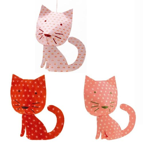 Mobile décoratif chats perchés décorations à suspendre Djeco