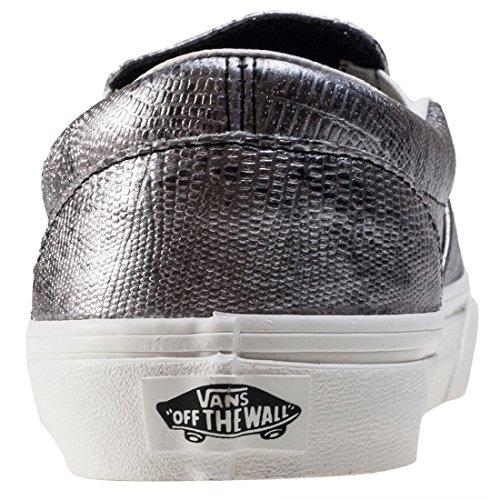 Vans Classic Slip-On- Sneaker Unisex Adulto Black Silver