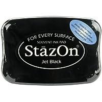 Unbekannt Jet Black StazOn Solvent Inkpad SZ-31