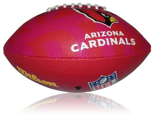 Wilson Football NFL Junior Arizona Cardinals Logo, Mehrfarbig, 5, WL0206814040