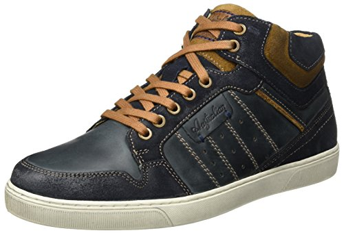 Everest Leather, Baskets Hautes Homme, Marron (Cognac), 44 EUAustralian Footware