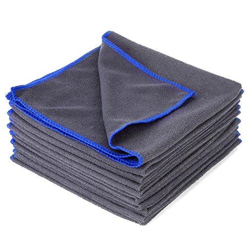 10x-Microfasertuecher-Tuch-40-x-40-cm-Mikrofaser-Poliertuch-Staubtuch-Microtuch-Auto-Haus-Reinigung-Tuecher